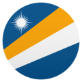 Flag: Marshall Islands on JoyPixels 5.0