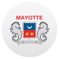 Flag: Mayotte on JoyPixels 5.0