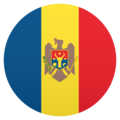 Flag: Moldova on JoyPixels 5.0