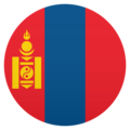 Flag: Mongolia on JoyPixels 5.0