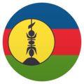 Flag: New Caledonia on JoyPixels 5.0