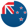 Flag: New Zealand on JoyPixels 5.0