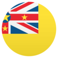 Flag: Niue on JoyPixels 5.0