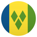 Flag: St. Vincent & Grenadines on JoyPixels 5.0