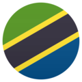 Flag: Tanzania on JoyPixels 5.0
