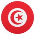 Flag: Tunisia on JoyPixels 5.0