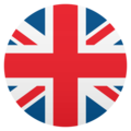Flag: United Kingdom on JoyPixels 5.0
