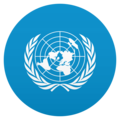 Flag: United Nations on JoyPixels 5.0