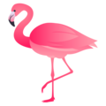 Flamingo on JoyPixels 5.0