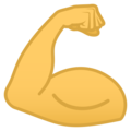 Flexed Biceps on JoyPixels 5.0