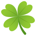 Four Leaf Clover on JoyPixels 5.0