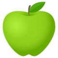Green Apple on JoyPixels 5.0