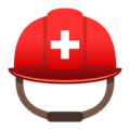 Rescue Worker's Helmet on JoyPixels 5.0