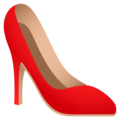 High-Heeled Shoe on JoyPixels 5.0