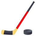 Ice Hockey on JoyPixels 5.0