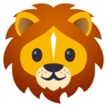 Lion Face on JoyPixels 5.0