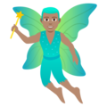 Man Fairy: Medium Skin Tone on JoyPixels 5.0