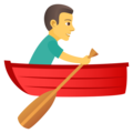 Man Rowing Boat on JoyPixels 5.0