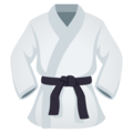Martial Arts Uniform on JoyPixels 5.0