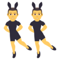 Men With Bunny Ears on JoyPixels 5.0