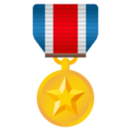 Military Medal on JoyPixels 5.0