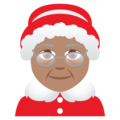 Mrs. Claus: Medium Skin Tone on JoyPixels 5.0