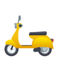 Motor Scooter on JoyPixels 5.0
