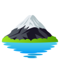 Mount Fuji on JoyPixels 5.0