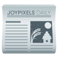 Newspaper on JoyPixels 5.0