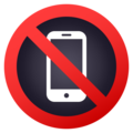 No Mobile Phones on JoyPixels 5.0