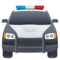 Oncoming Police Car on JoyPixels 5.0