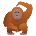 Orangutan on JoyPixels 5.0