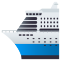 Passenger Ship on JoyPixels 5.0