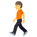 Person Walking on JoyPixels 5.0