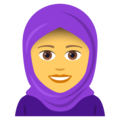 Woman With Headscarf on JoyPixels 5.0