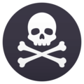 Pirate Flag on JoyPixels 5.0
