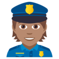 Police Officer: Medium Skin Tone on JoyPixels 5.0