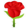 Rose on JoyPixels 5.0