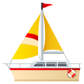 Sailboat on JoyPixels 5.0