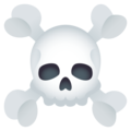 Skull and Crossbones on JoyPixels 5.0