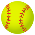 Softball on JoyPixels 5.0