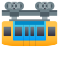 Suspension Railway on JoyPixels 5.0