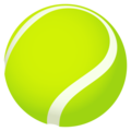 Tennis on JoyPixels 5.0