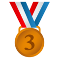 3rd Place Medal on JoyPixels 5.0
