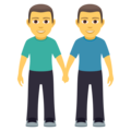 Men Holding Hands on JoyPixels 5.0