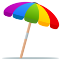 Umbrella on Ground on JoyPixels 5.0