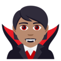 Vampire: Medium Skin Tone on JoyPixels 5.0