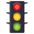 Vertical Traffic Light on JoyPixels 5.0