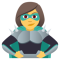 Woman Supervillain on JoyPixels 5.0