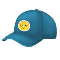 Billed Cap on Emojipedia 11.1